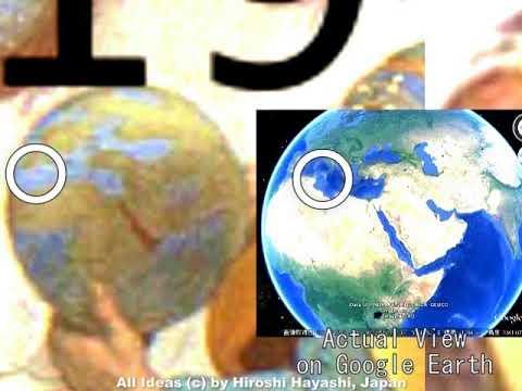 2512<10>Raffaellos Terrestrial Globe in Mysteryラファエロの疑惑の地球儀by Hiroshi Hayashi, Japan