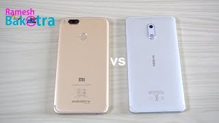 Xiaomi Mi A1 vs Nokia 6 Speed Test Comparison