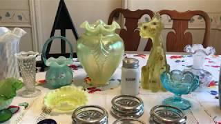 Estate Sale Finds Video #151 Fenton Art Glass Haul & More!!!