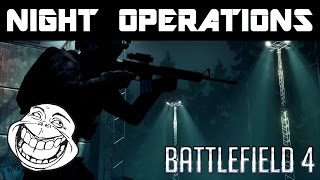 Battlefield 4: Gameplay Action: Night Operations!
