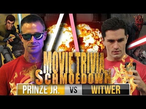 Star Wars: Rebels: Freddie Prinze Jr Vs Sam Witwer  Movie Trivia Schmoedown Special Episode