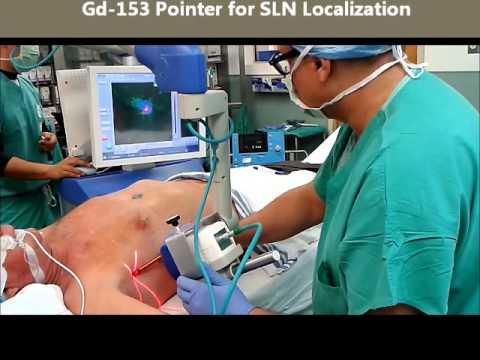 Radioguided Surgery Intraoperative Gamma-Camera Sentinella102 Lymphatic mapping-SLNB-Melanoma