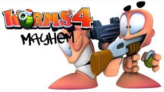 Worms 4: Mayhem - Прохождение #1 (Ностальгия)