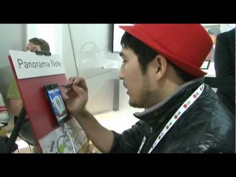 CES 2013 : Panorama Note on LG Optimus Vu: II