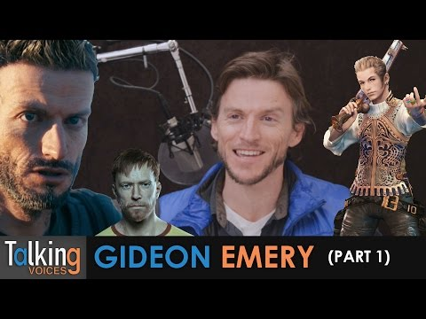 Talking Voices  Gideon Emery Part 1
