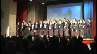 """Someone Like You"" by Adele - Duke of York's Royal Military School Choir"
