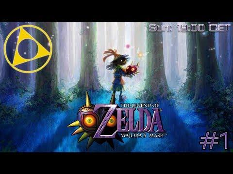 """Descent Into Darkness"" - Kinan Plays The Legend of Zelda - Majora's Mask #1 Part 1.5 Lost Time"