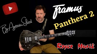 Framus Panthera 2 demo by Aymeric Silvert