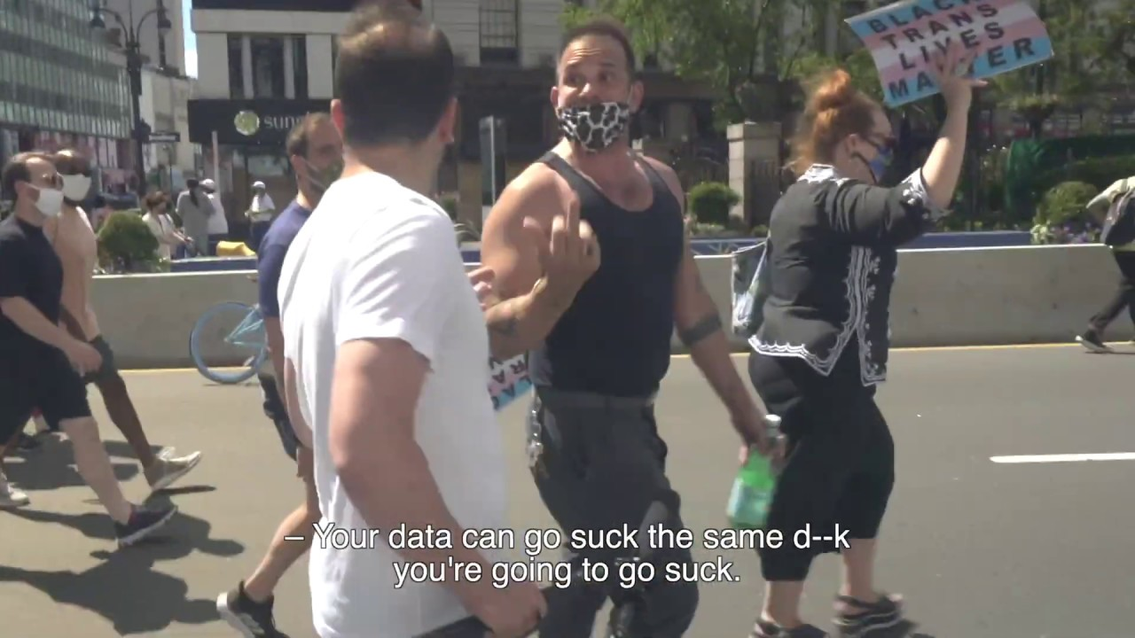 THIS is What Happens When Protesters are Confronted with Data and Facts...