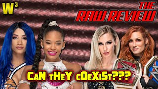 Can The Teammates Coexist Spoiler No The Raw Review October 11 2021