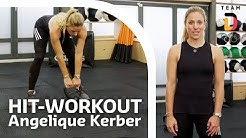 HIT-Workout mit Angelique Kerber | Trainingshelden