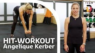 HIT-Workout mit Angelique Kerber | Trainingshelden