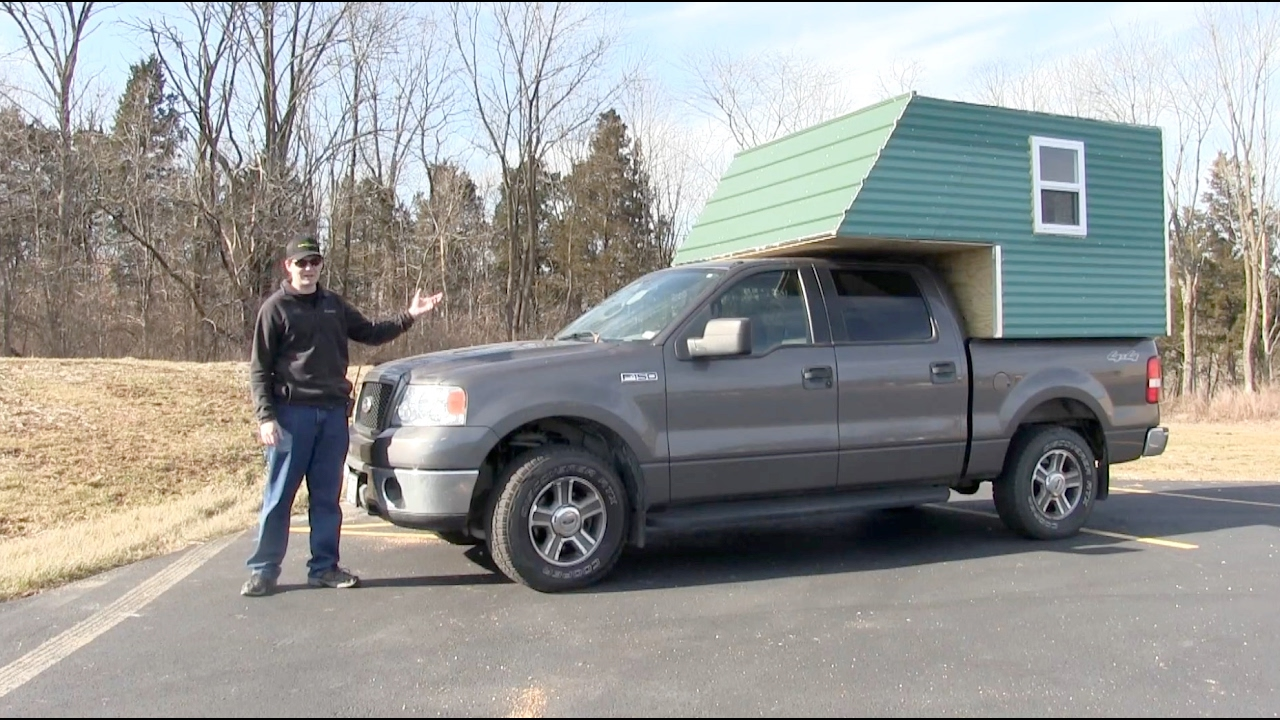Homemade Truck Camper Project Part 1