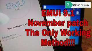 EMUI 9.1!!! Honor 9 lite /LLD-L31/. Remove Google Account.Bypass FRP.