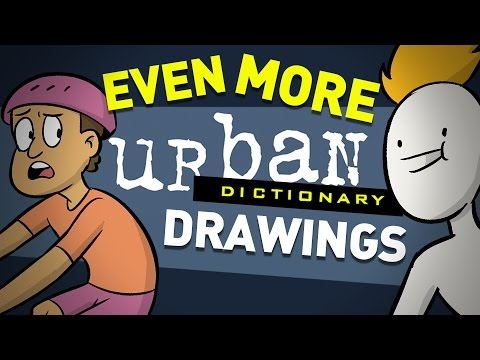 Urban Dictionary Drawing Challenge 3: RESURGENCE