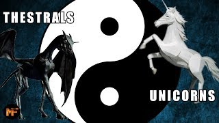 Harry Potter Theory: Thestrals & Unicorns the Yin & Yang of the Wizarding World?