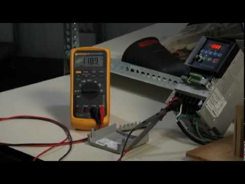 How to Test a Variable Speed Drive (VSD) With a Fluke ScopeMeter®