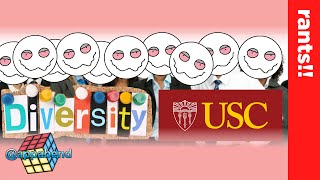 This is Diversity on CRACK! (USC Game Panel & Cyberpunk 2077)
