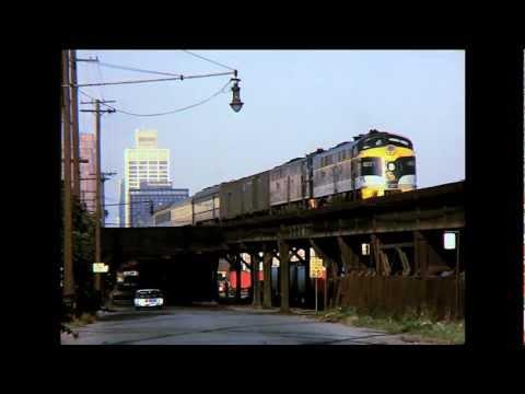 Detroit Passenger Trains 1960s & 1970s