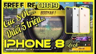 Garena Free Fire   Cực SỐC iPhone 8 Lock Chưa Được 5 Triệu Bao Max Free Fire   Huỳnh Bá Nhuận