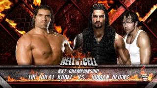 Hell in A Cell '17 - NXT Championship The Great Khali vs Roman Reigns