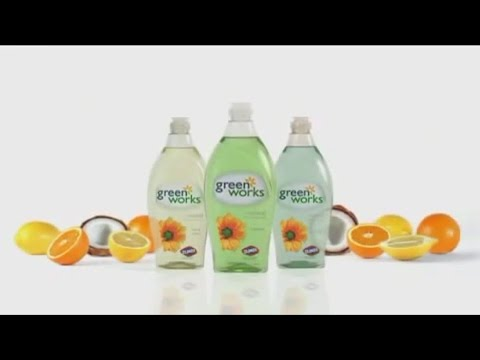 "Clorox 'Green Works' Products: ""Dishwashing Liquid"" Lunch Ad"