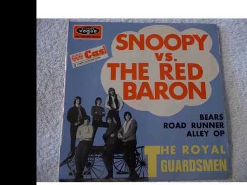 Snoopy Vs The Red Baron- w - The Royal Guardsmen