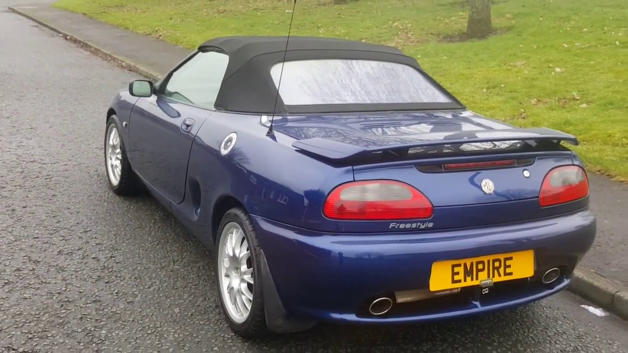 Mg mgf 1 8 freestyle mg enthusiast owned motor empire for Empire motors auto sales