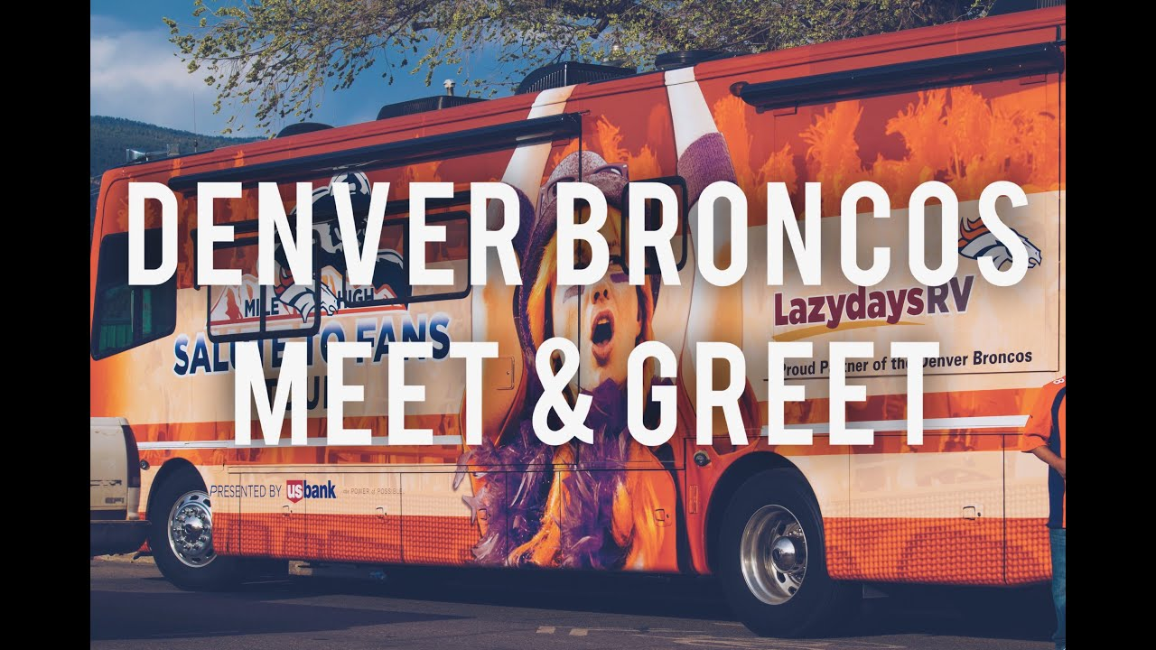 Denver broncos meet greet youtube denver broncos meet greet m4hsunfo Images