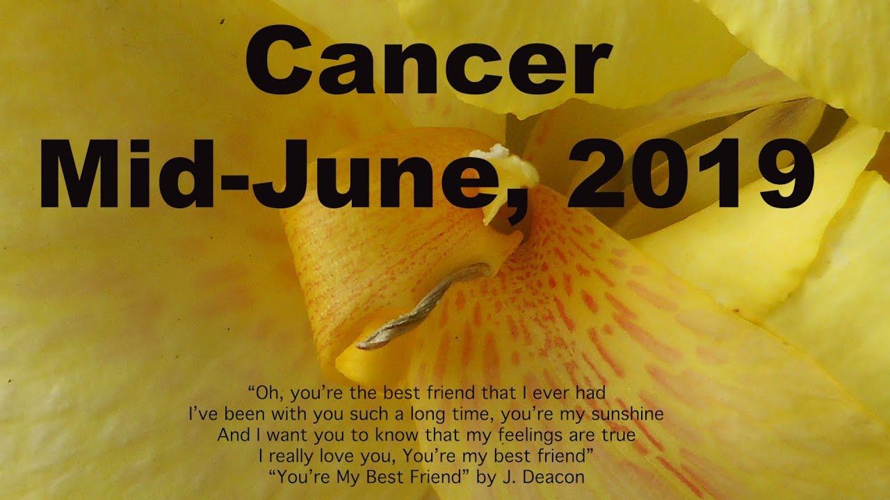 Cancer JUNE 2019 ARE THEY COVERT? TRUST YOUR GUT CANCER! Mid-Month Tarot