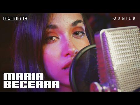 "Maria Becerra ""ANIMAL"" (En Vivo) | Open Mic - Genius"