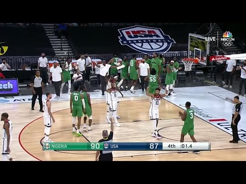 Nigeria just pulled off a HISTORIC upset win over Team USA ?