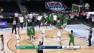 Nigeria just pulled off a HISTORIC upset win over Team USA 👀