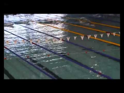 WOMEN 100m sf Finswimming Turkish Championships 2014