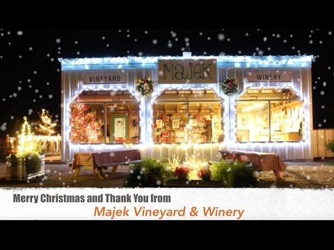 Majek Vineyard & Winery Christmas 2016