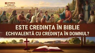 """Film creștin """"Ruperea Vrăjii"""" Fragment 4 - Este credința în Biblie echivalentă cu credința în Domnul?"""