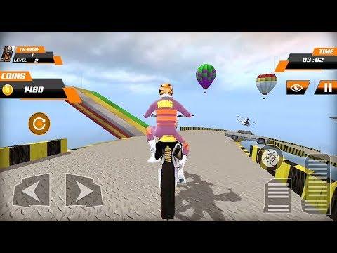 Real Motocross Stunt Bike Pro Tricks Master Racing Game 3D    Bike Games    Bike Stunts Games