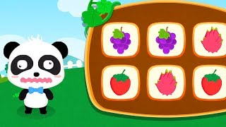 Baby Panda Learn The Fruit Names & Recognize Fruit - Educational Children Games