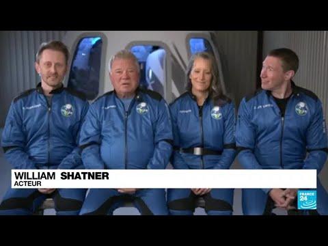 Course à l'espace : une nouvelle fusée a décollé, avec William Shatner à son bord