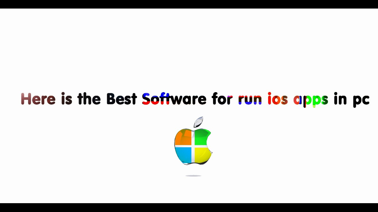 How to Run ios Apps in Windows 7/8/8 1/10