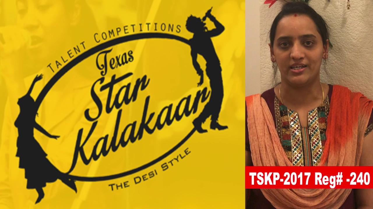 Reg# TSK2017P240 - Texas Star Kalakaar 2017