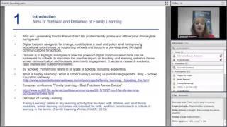Webinar: Family Learning and Digital Citizenship, 26 April 2016