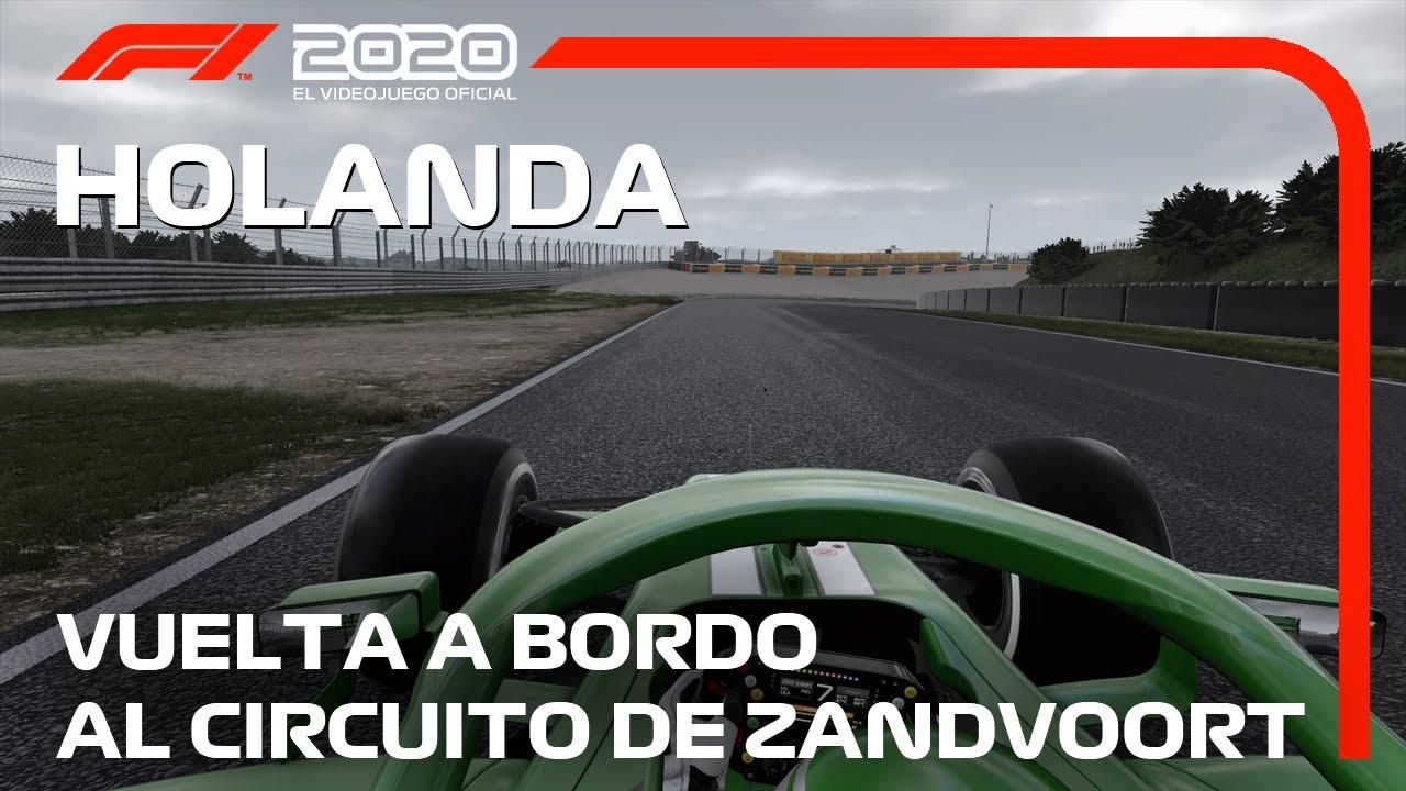 F1 2020: Vuelta a bordo al Circuito de Zandvoort | Gran Premio de Holanda -  YouTube