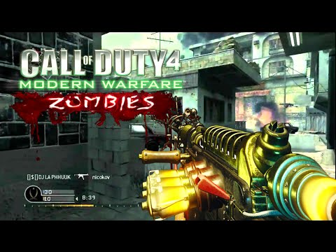 ZOMBIES IN CoD4! - Reign of the Undead Mod (Call of Duty 4 Modern Warfare) | Noobface