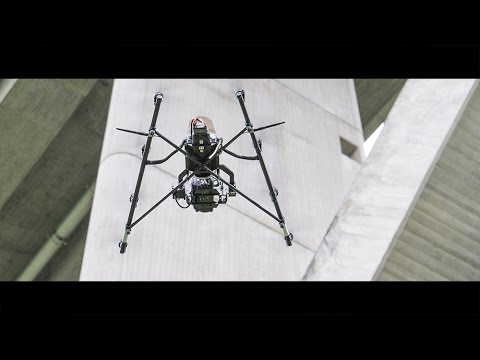 UAV- / Drone-based industrial & civil infrastructure inspection with the AscTec Falcon 8