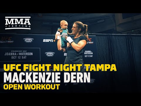 Dan Joyce - UFC Star Mackenzie Dern Back In Cage 4 Months After Having Baby