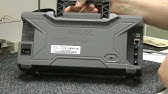 Homemade RF spectrum analyzer - YouTube