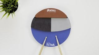The Best Drum Practice Pad - Drumeo P4 + A Fun Practice Technique | Unboxing & Quick Look