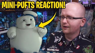 Ghostbusters: Afterlife Mini-Pufts REACTION!
