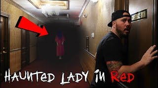 The Lady In Red Ghost Overnight Challenge | OmarGoshTV